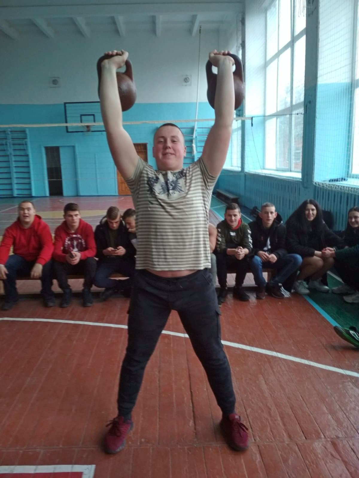 Змагання з гирьового спорту