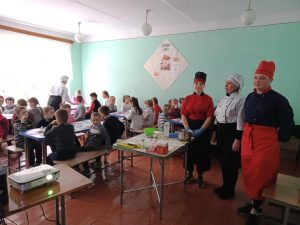 Майстер-клас у Рудківській гімназії