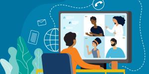 Онлайн нарада педагогічних працівників