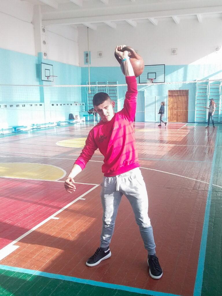 Результати змагань з гирьового спорту