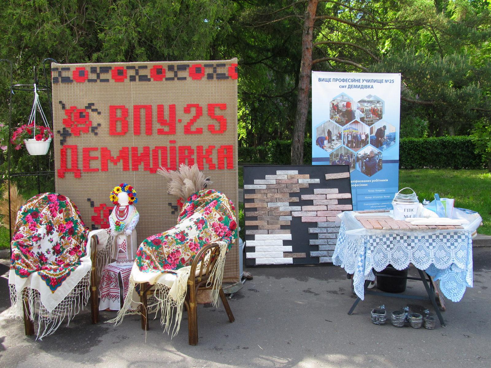 Обласна виставка-ярмарок робітничих професій