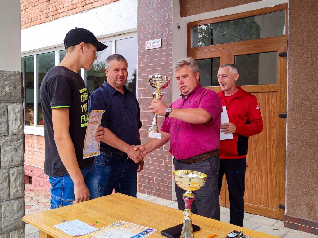 Нагородження переможців спортивних турнірів та Спартакіади 2020-2021